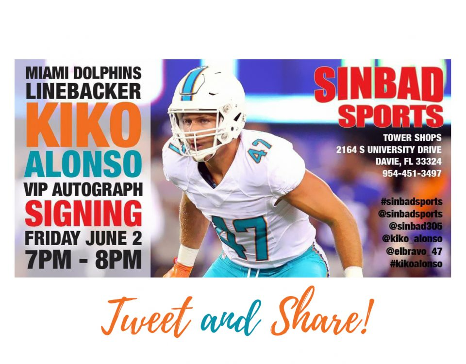Kiko Alonso Autograph Signing Event